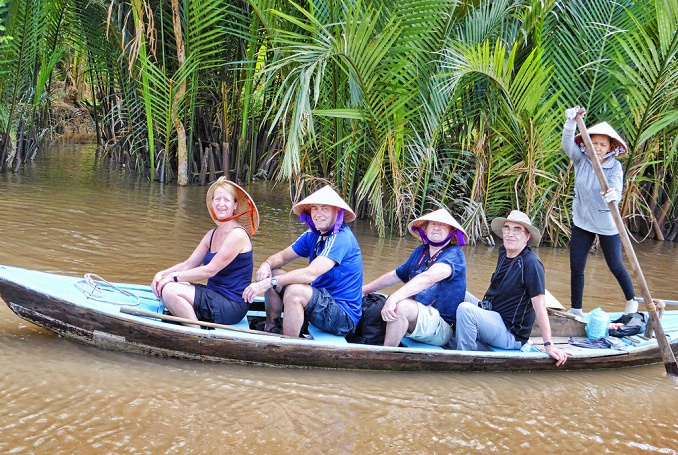Amazing 4 Days 3 Nights Ho Chi Minh - Mekong Cai Be- Cu Chi tunnel